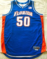 Udonis Haslem Florida Gators 2001-02 team issued authentic Nike Elite stitched jersey NEW