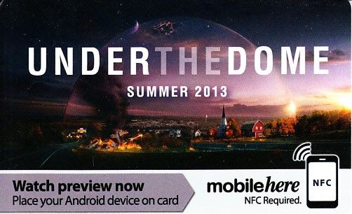 Under the Dome 2013 Comic-Con CBS promo card