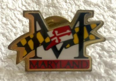 University of Maryland gold lapel pin