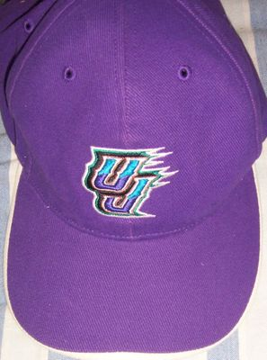 Utah Jazz purple embroidered cap or hat