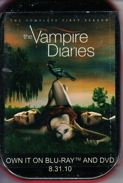 Vampire Diaries 2010 Comic-Con promo tin of cinnamon red hots candy
