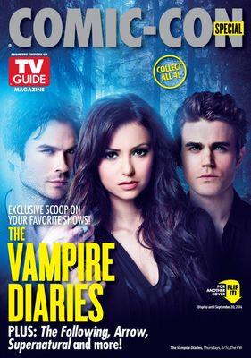 Vampire Diaries and Constantine 2014 Comic-Con TV Guide magazine