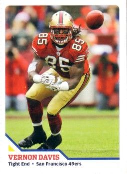 Vernon Davis San Francisco 49ers 2010 Sports Illustrated for Kids card