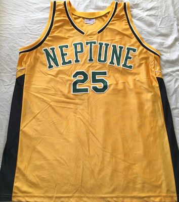 Veronica Mars TV series show worn Neptune High School stitched basketball jersey