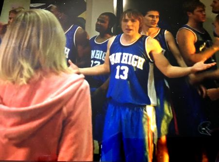 Veronica Mars TV series show worn Pan High School basketball jersey