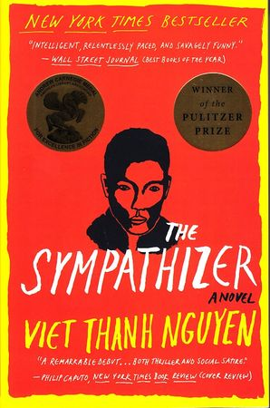 Viet Thanh Nguyen autographed The Sympathizer softcover book