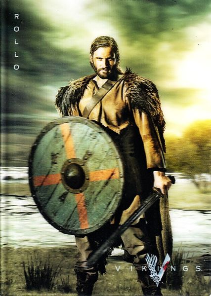 Vikings Rollo 2013 Comic-Con SDCC 5x7 lenticular History Channel promo card (Clive Standen)