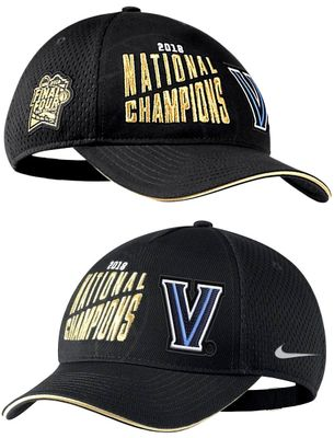 Villanova Wildcats 2018 NCAA National Champions Nike locker room cap or hat NEW