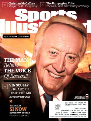 Vin Scully 2016 Sports Illustrated magazine