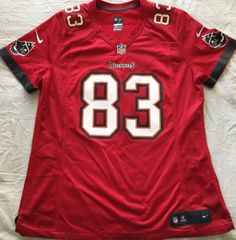 Vincent Jackson Tampa Bay Buccaneers authentic Nike On Field red women's size XL jersey NEW