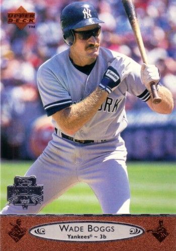 Wade Boggs New York Yankees 1996 Upper Deck All-Star Game jumbo card
