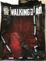 Walking Dead Overkill 2018 Comic-Con huge promo tote bag or backpack NEW