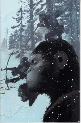 War for the Planet of the Apes movie 2017 Comic-Con exclusive promo comic book