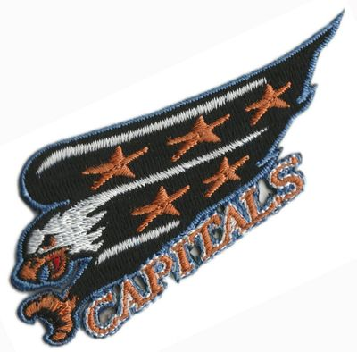 Washington Capitals 1995-96 to 2001-02 logo embroidered patch
