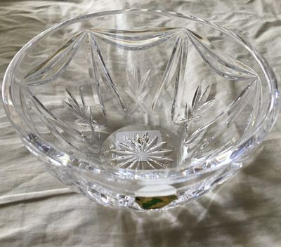 Waterford Crystal 5 inch Variety Bowl for candy or nuts BRAND NEW IN ORIGINAL GIFT BOX