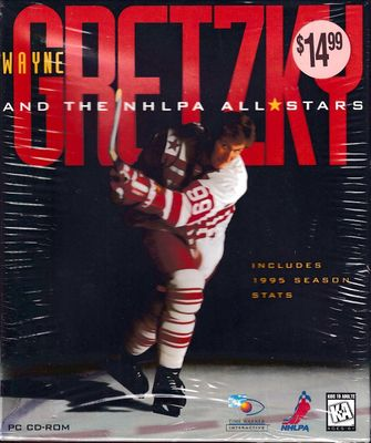 Wayne Gretzky and the NHLPA All-Stars Hockey 1995 PC CD-ROM computer video game NEW AND SEALED