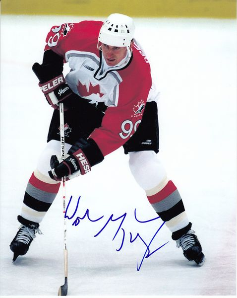 Wayne Gretzky autographed Team Canada 8x10 photo