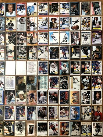 Wayne Gretzky 135 different 1990s NHL hockey cards Upper Deck Score Ultra Topps O-Pee-Chee SP SPx Leaf