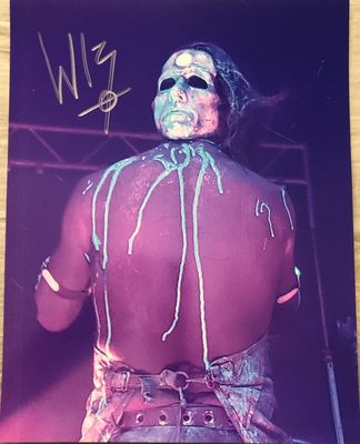 Wednesday 13 autographed 11x14 photo
