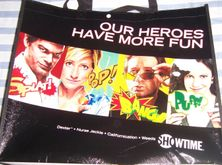Weeds 2010 Comic-Con Showtime promo tote bag