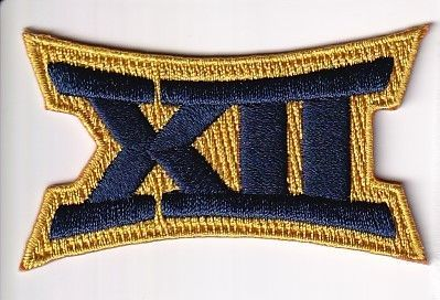 West Virginia Big 12 Conference jersey patch