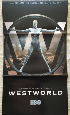 Westworld 2017 San Diego Comic-Con foldout 10x20 inch poster