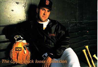 Will Clark San Francisco Giants 1993 Upper Deck Iooss Collection jumbo insert card #/10000