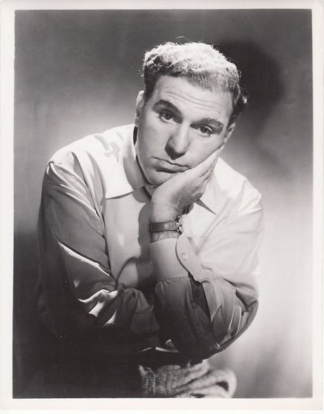 William Bendix original 1940s 8x10 black & white publicity photo