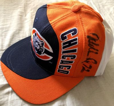 William (The Refrigerator) Perry autographed Chicago Bears cap or hat