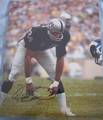 Willie Brown autographed Oakland Raiders 11x14 photo