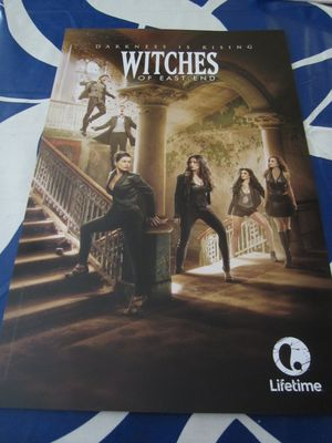 Witches of East End 2014 Comic-Con mini 11x17 promo poster