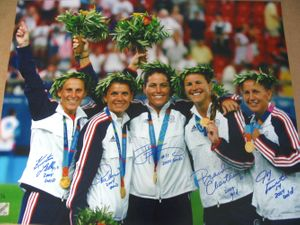 Women's Soccer Autographs