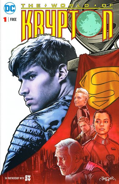 World of Krypton 2018 DC comic book issue #1
