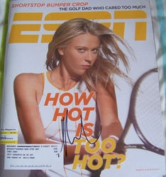 WTA Tour Women's Tennis Autographs