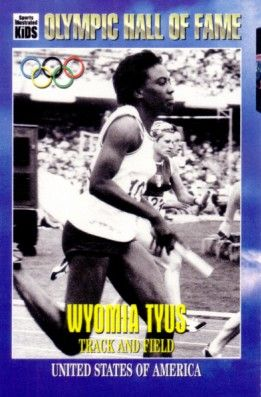 Wyomia Tyus Olympic Hall of Fame 1996 Sports Illustrated for Kids card