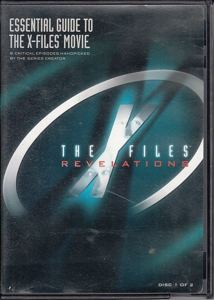 X-Files Revelations DVD Disc One with 4 conspiracy episodes