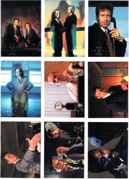 X-Files Topps Season 2 complete 72 card set