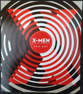 X-Men Days of Future Past fan art booklet