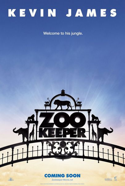 Zookeeper 2011 mini teaser movie poster (Kevin James)