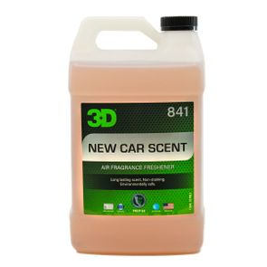 3D Air Fresheners - New Car Scent 128 oz.