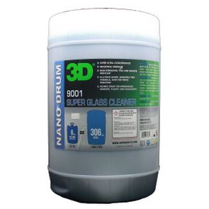 3D Super Glass Cleaner - 6 Gallon