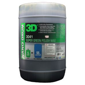 3D Super Green Polish Wax HC - 6 Gallon