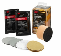 3M Headlight Restoration Kit – No Tools Required 39084