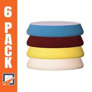 """5 inch Buff and Shine Uro-Tec Foam Pads - 6 Pack<font color=""""ff0000"""">Choose Your Pads!</font>"""