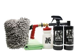 BLACKFIRE Complete Foam Gun Wash & HydroSeal Kit