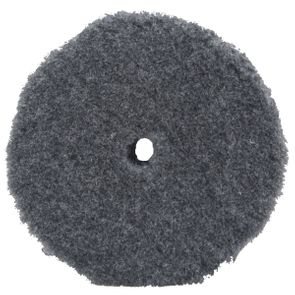 """Buff and Shine Thick Grey Uro-Wool Blended Pad - 6.125"""""""