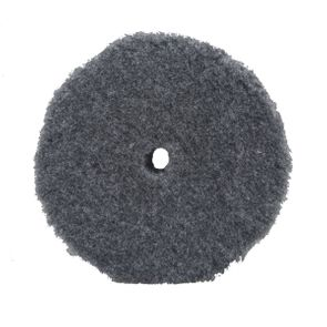 Buff and Shine Thick Grey Uro-Wool Blended Pad - 5.125""