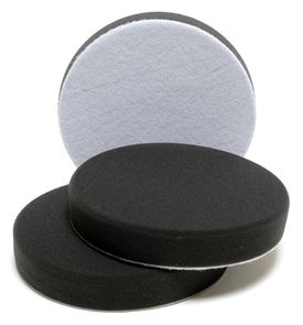 """6 Inch Black Finishing Pad, Set of 3 <font color=""""ff0000""""> Buy One - Get One Free!</font>"""
