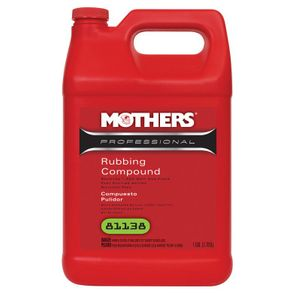 """<font color=""""ff0000"""">BUY ONE - GET ONE FREE -</font> Mothers Professional Rubbing Compound 128 oz."""