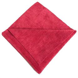 16x16 Red Edgeless Terry Towel 300gsm